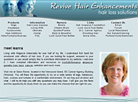 Revive Hair Enhancements site